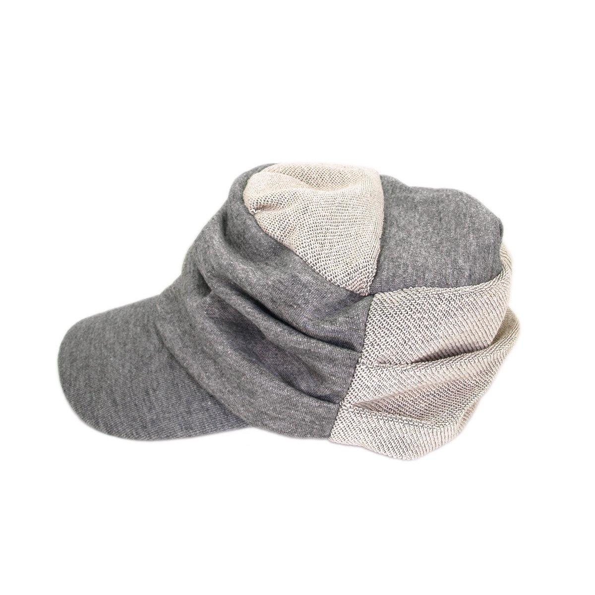 1361533ad1b TrendsBlue Trendy Cotton Grey 2-Tone Soft Cadet Cap Hat  Amazon.co.uk   Clothing