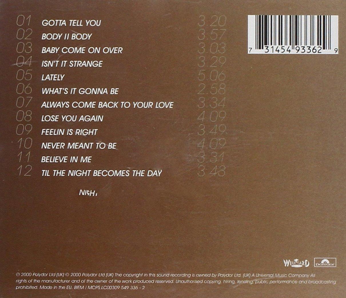 Gotta Tell You - Samantha Mumba: Amazon.de: Musik