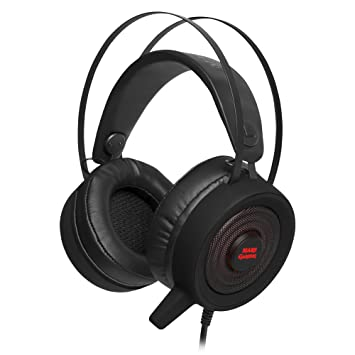 Mars Gaming MH318 - Auriculares Gaming (Surround 7.1, iluminación RGB Flow, Diadema de