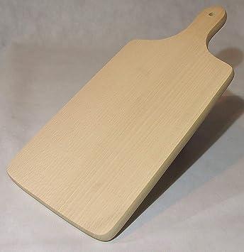 Compra Tabla de cortar de madera de haya, madera, madera de haya, 40.5x19x1.5cm en Amazon.es
