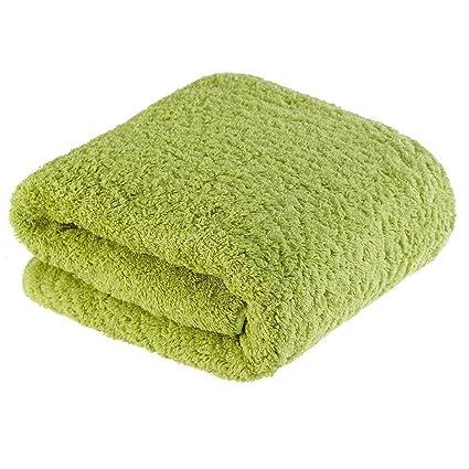 Egipcia de fibra larga de algodón de rizo toalla de largo 78 × 150cm 880g de