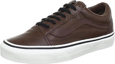 vans old skool aged leather