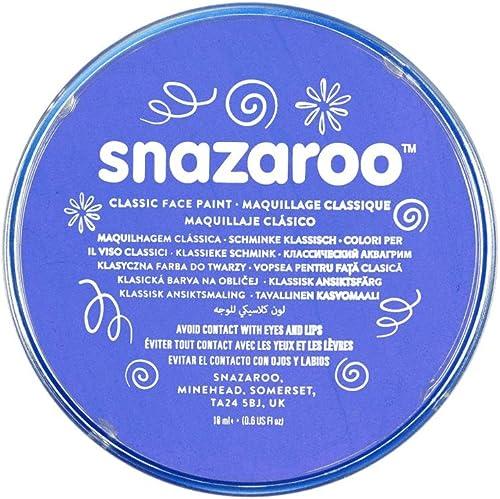 Snazaroo Classic Face Paint, Sky Blue
