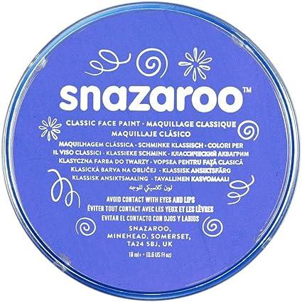 Snazaroo colore per viso 18ml blu reale
