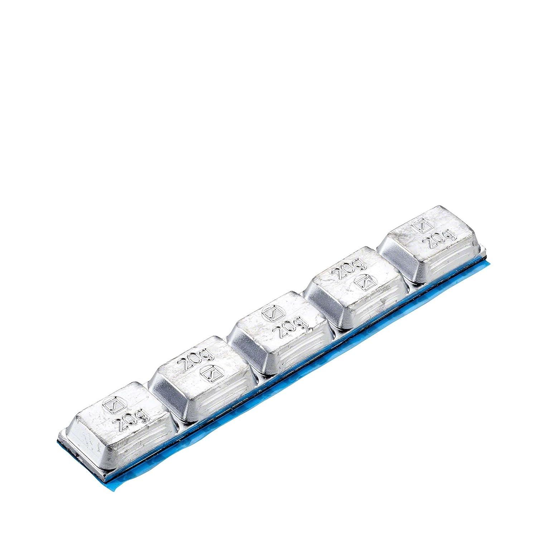 10x Klebegewicht Typ 550 100 g Hofmann Power Weight | LKW Reifen Alufelgen Auswuchtgewicht