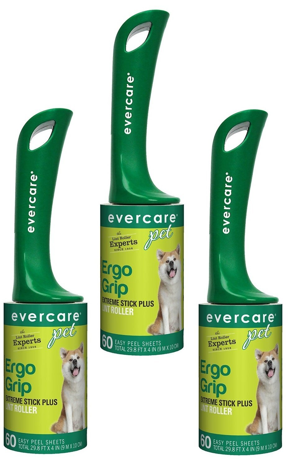 Evercare Extra-Sticky Pet Hair Rollers (3 Pack) by Evercare