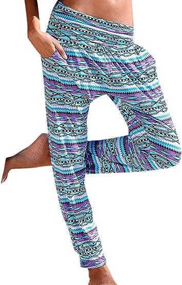 Feytuo Pantalones de Yoga Mujer,Mujer Pantalones de Yoga Pantalones Deportivos Algodón Modal Harem Pantalón Polainas para Danza, Yoga, Ganduleado, Fitness - Muy Suave Pantalones de Yoga Mujer Leggins: Amazon.es: Deportes y aire