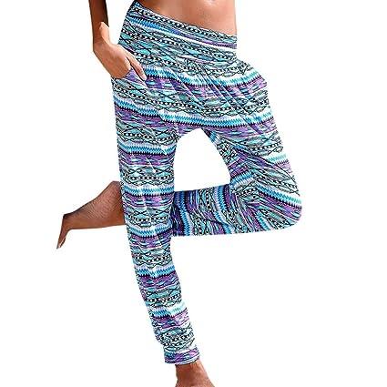 Feytuo Pantalones de Yoga Mujer,Mujer Pantalones de Yoga ...