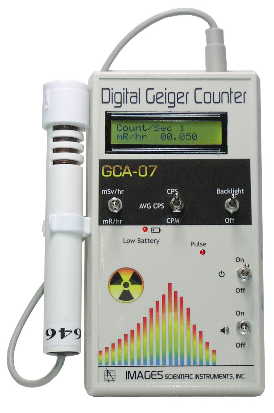 Gca 07w Professional Geiger Counter Nuclear Radiation Detection Schematic Viewing Gallery Monitor With Digital Meter And External Wand Probe Nrc Certification Ready 0001 Mr Hr