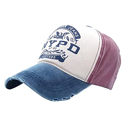 Buy iSweven Baseball 100% Cotton Cap for Men   Women (Unisex) Fashion  Adjustable Strip Sportswear Hat Online at Low Prices in India - Amazon.in 529c92250397
