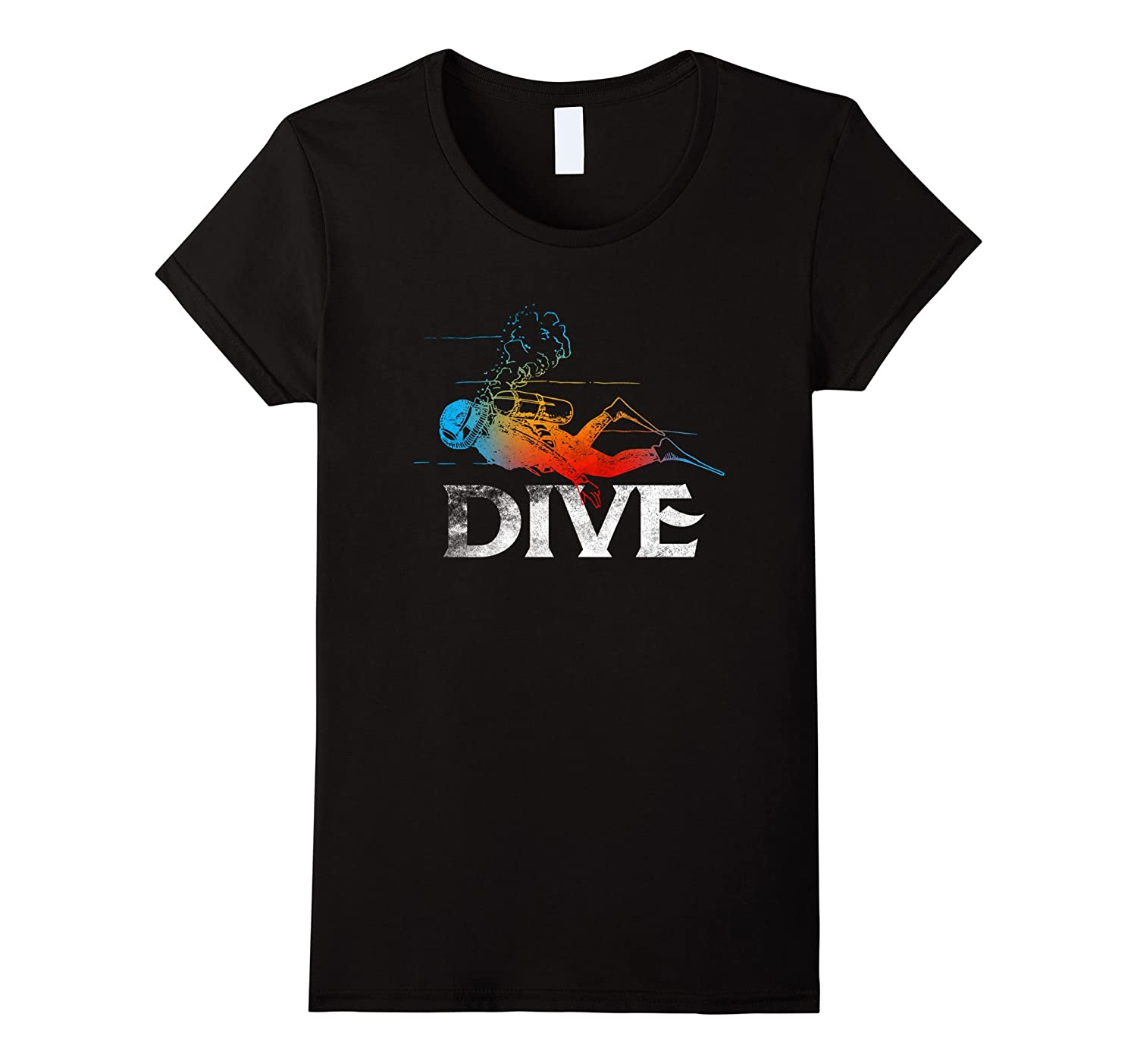 Love Scuba Diving T shirt Mask Gift Dive Lovers Gift New Tee