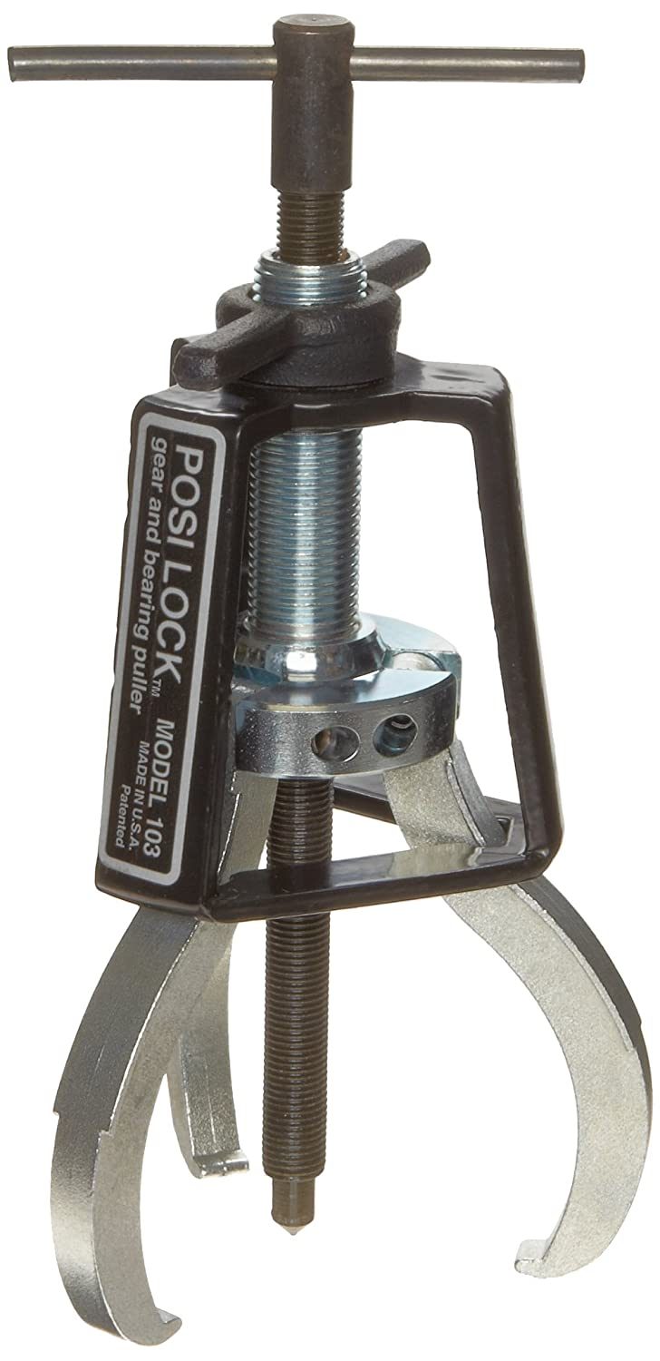 """Posi Lock 103 Manual Puller, 3 Jaws, 2 tons Capacity, 3"""" Reach, 1/4"""" - 4-1/4"""" Spread Range, 7"""" Overall Length"""