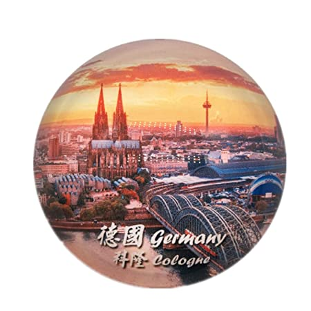 Colonia Alemania Nevera Nevera Ciudad Mundo Cristal Cristal Hecho ...