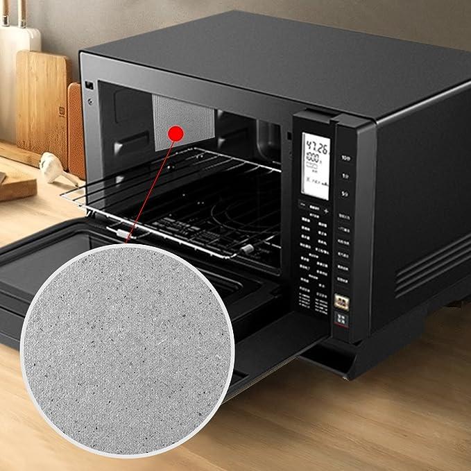 X-Mile 5 PCS Horno de Microondas Mica Placas de Placa Microwave Magnetron Cámara Mica Papeles Resistente al Calor Aislamiento Amplia Adaptación Fácil ...
