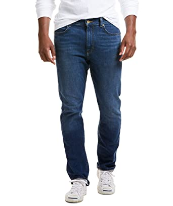 new concept ebac1 01f1f Vineyard Vines Mens Lewis Bay Wash Stretch Denim in Moonshine