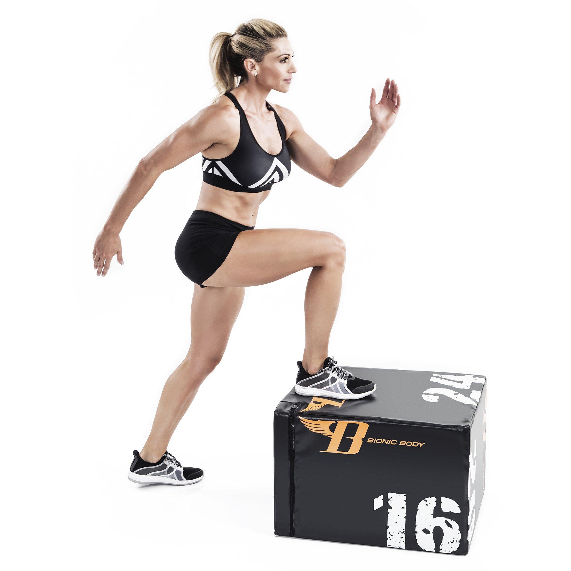 Bionic Body Plyo Exercise Box Plyometric Box with Soft Cover BBPB-1106 by Bionic Body (Image #2)