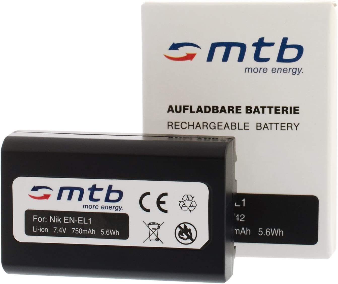 MILNOTA NP 800 Prodotto compatibile per sostituire Batteria lithium-ion per fotocamera//videocamera NP800