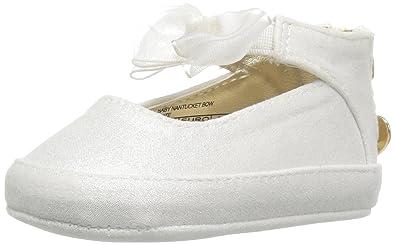 712078c4ed6 Stuart Weitzman Kids  Baby Nantucket Bow Flat  Amazon.in  Shoes ...