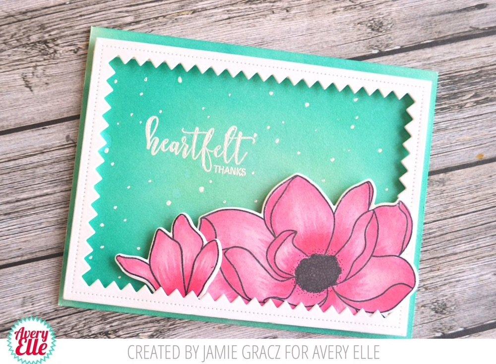 Avery Elle - Magnolia Clear Stamps and Dies Set - 2 item bundle