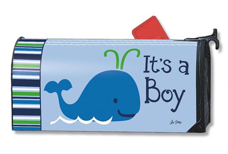 Studio Mメールボックスカバー – It 's A Boy Gender Reveal / Birth Announcement B00UZDBO7U