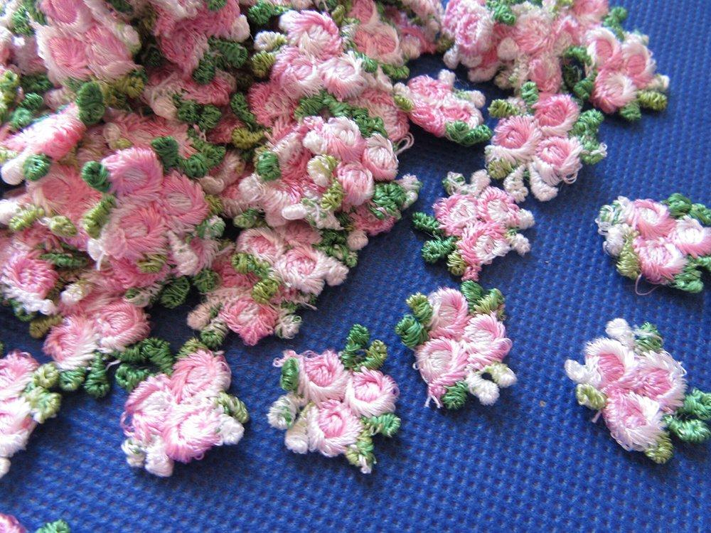 YYCRAFT 5y Fancy 1.5 White Lace Edge Trim Pearl Wedding Applique DIY Sewing Crafts