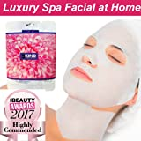 Collagen Face Mask For Both Face And Neck By 5kind-Anti Ageing Sheet Mask And Intensive Hydrating Serum, Plumps, Moisturises And Renew Your Skin. Reduces The Appearance Of Lines And Wrinkles-Best Value Spa Facial