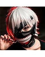 Amazon.com: Tokyo Ghoul Kaneki Ken Cosplay Mask: Clothing