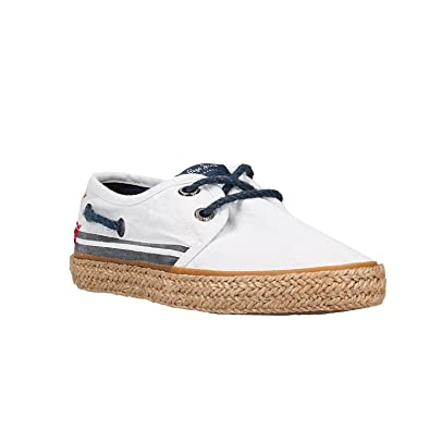 Pepe Jeans Chaussures PBS10085 800WHITE 34 Blanc WZfG7D