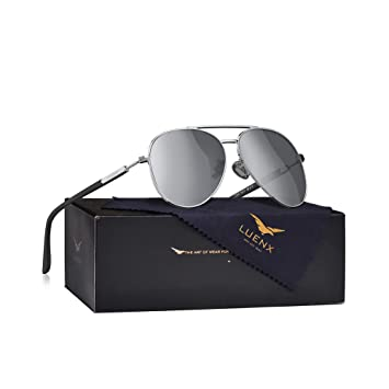 Amazon.com: LUENX - Gafas de sol polarizadas para hombre ...