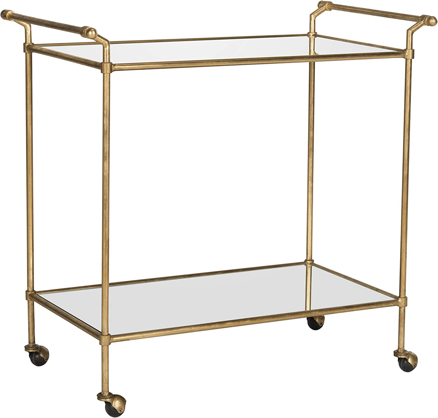 Safavieh Home Collection Felicity Gold Bar Cart