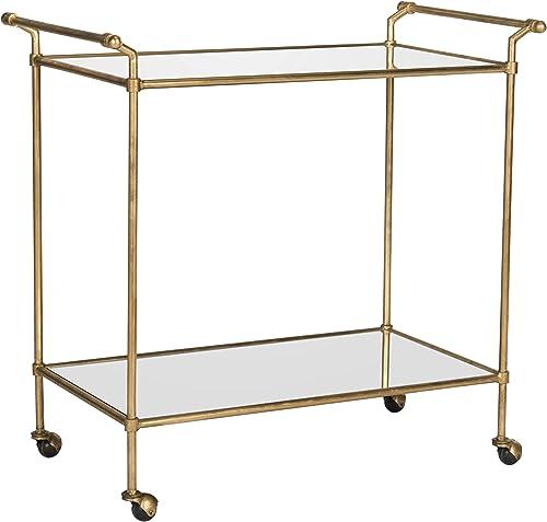 Safavieh Home Collection Felicity Gold Bar Cart
