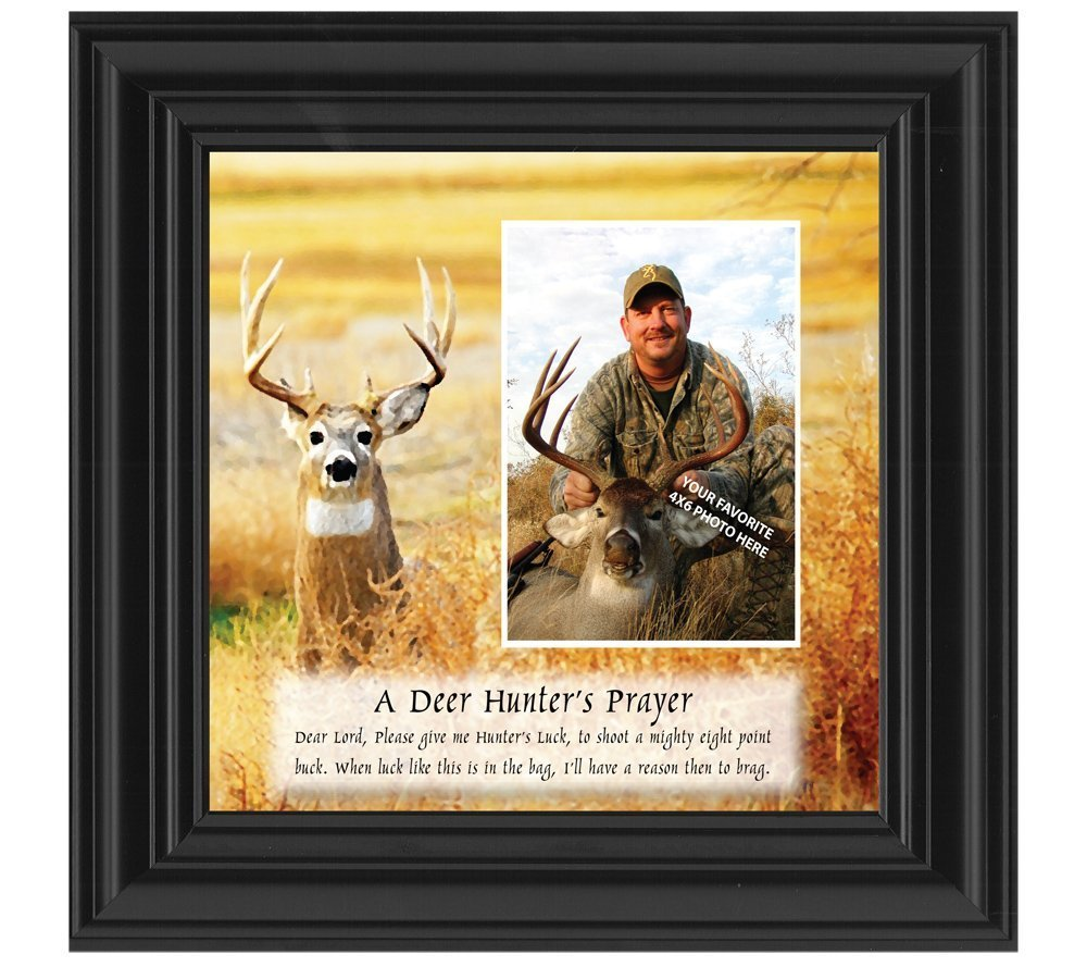 Amazon.com - A Deer Hunter\'s Prayer, Framed Hunting Picture, 10X10 ...