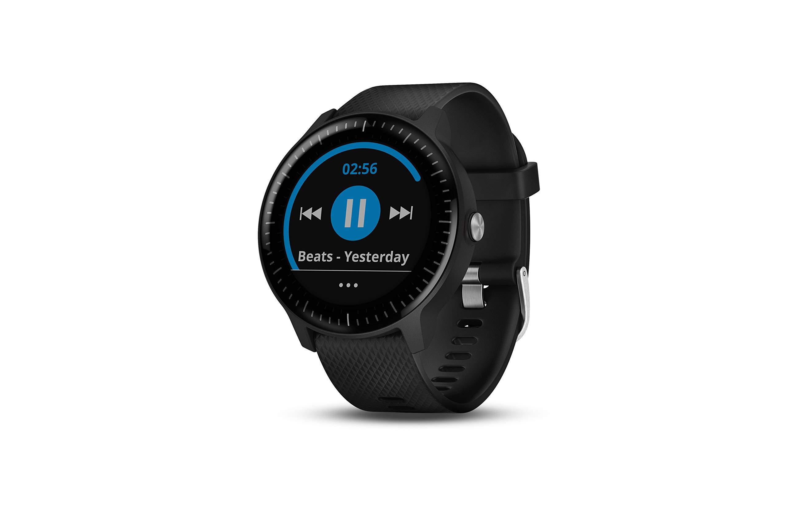 Garmin Vivoactive 3 Music Smartwatch GPS con Profili Sport, Sensore Cardio, Musica Integrata e Pagamento Contactless, Nero product image