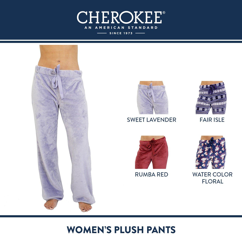 d5e6d71cf8 Cherokee - Pantalón de Peluche para Mujer  Amazon.com.mx  Ropa ...