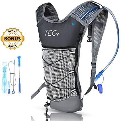 Amazon.com: TEC - Mochila de hidratación aislada y 2 litros ...
