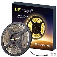LE Ruban LED Flexible 2835 SMD, 300 LED, 12V Décoration Intérieure, Eclairage d'Appoint Design et Moderne Salon, TV, Bar, Meubles