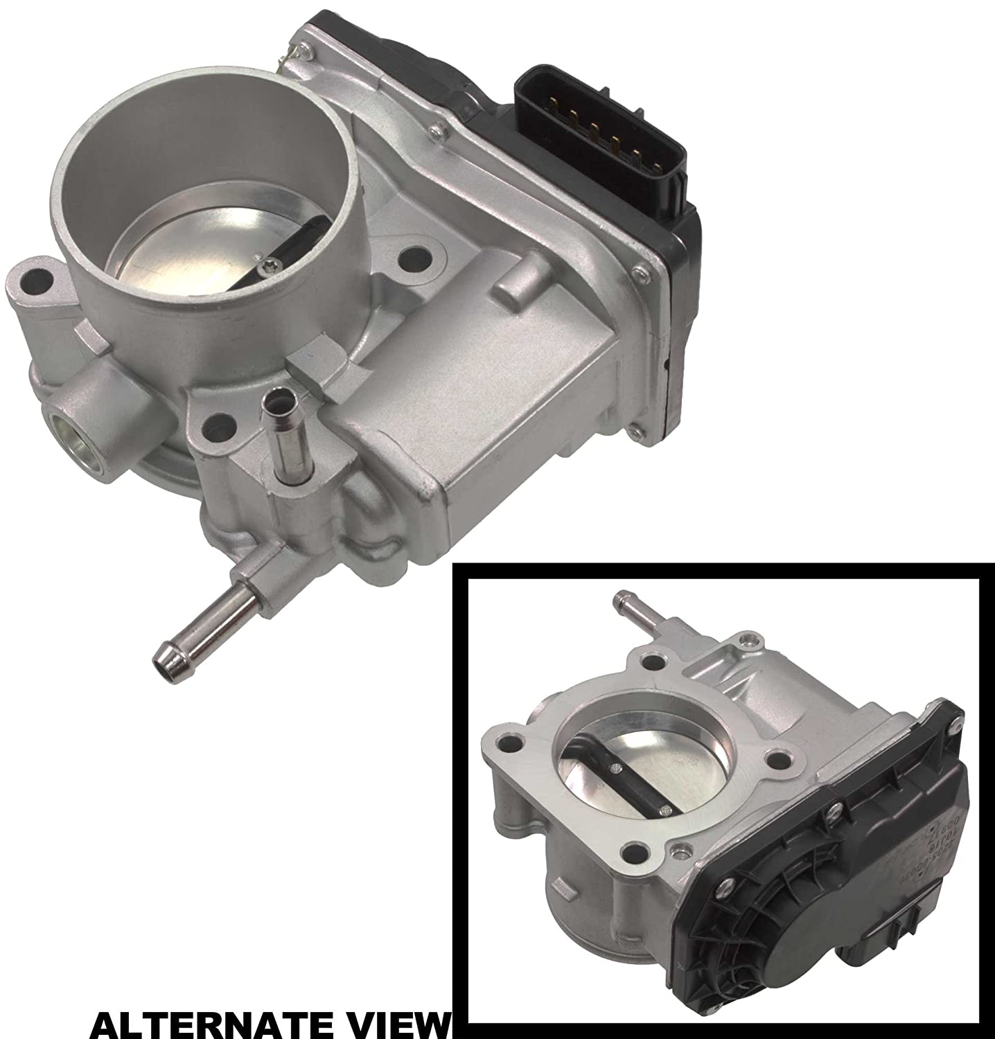 APDTY 112807 Electronic Throttle Body Assembly Actuator Valve Fits 1.8l Engine On 2005-2008 Toyota Corolla / 2005-2008 Toyota Matrix (Replaces Toyota 22030-22041, 2203022041)