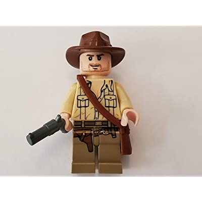 LEGO Indiana Jones Minifig Indiana Jones Open Shirt: Toys & Games