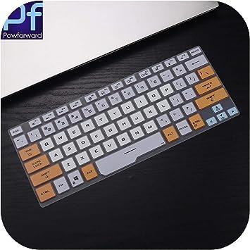Protector de silicona para teclado Asus ROG Zephyrus G14 ...