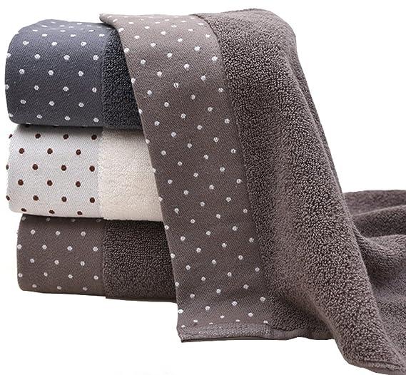 Juego de toallas de mano de algodón (3 unidades, 14 x 30 pulgadas) multiusos para baño, mano, cara, gimnasio y spa: Amazon.es: Hogar
