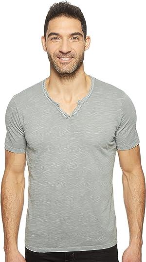 Mod-o-doc Men's Del Mar Short Sleeve V-Neck Tee Coastal T-Shirt