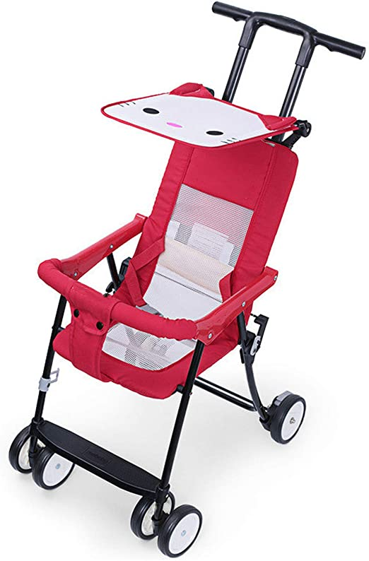 Opinión sobre Ligero Plegable, Cochecito De Bebé, Amortiguador Y Transpirable, Cochecito De Bebé (Red)