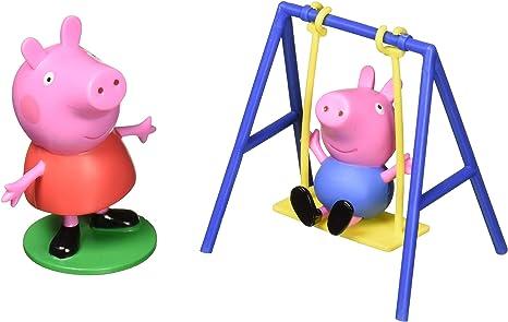 Amazon.com: DecoPac Peppa Pig en un Columpio Set para ...