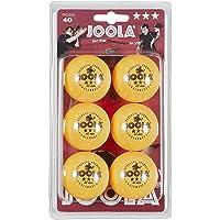 Joola Rossi 3-Star Pelotas de Ping Pong -, Pack de 6