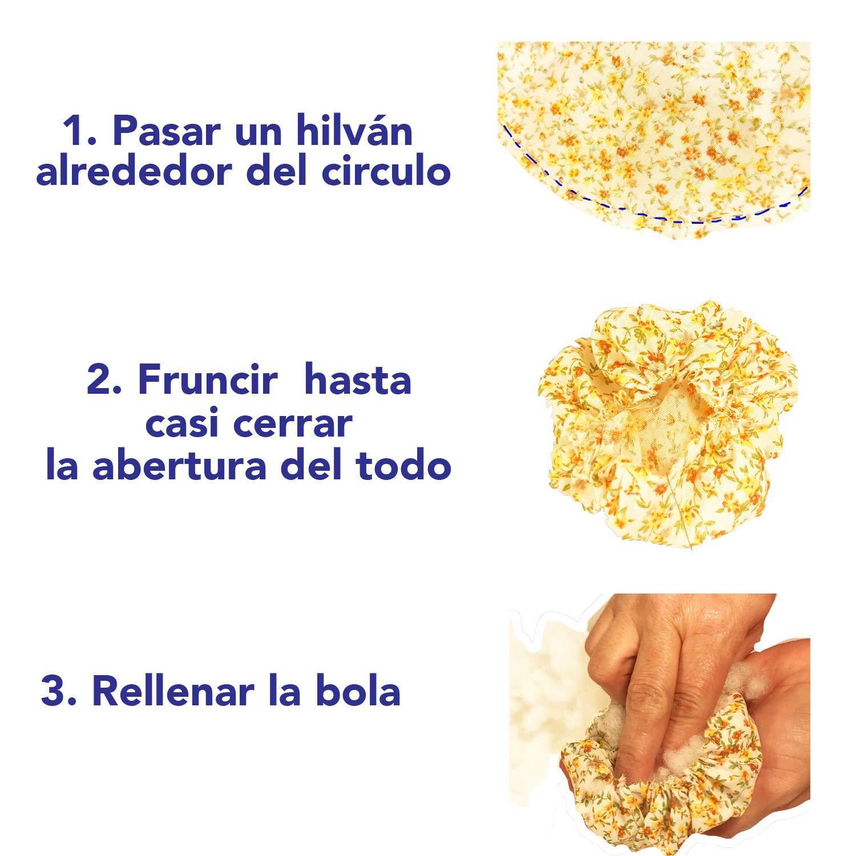 DIY KIT Alfiletero amarillo ocn molde, miregalodiferente.es: Amazon.es: Handmade