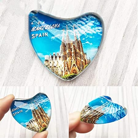 Weekinglo Souvenir Barcelona España Nevera Imán de Nevera Ciudad ...