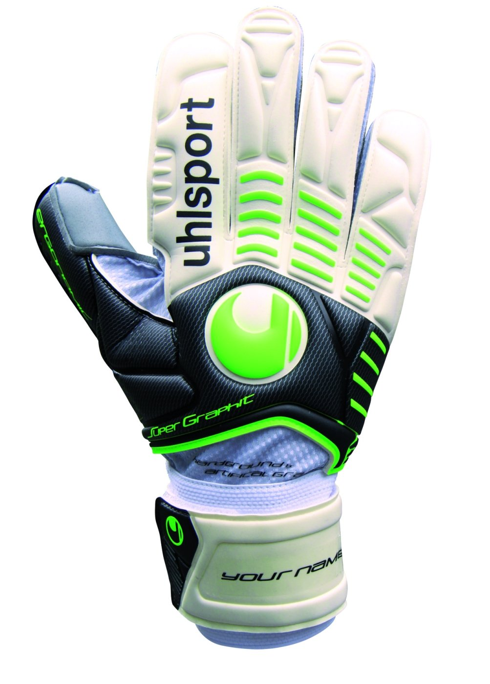 Uhlsport Torwarthandschuh Ergonomic Supersoft Graphit