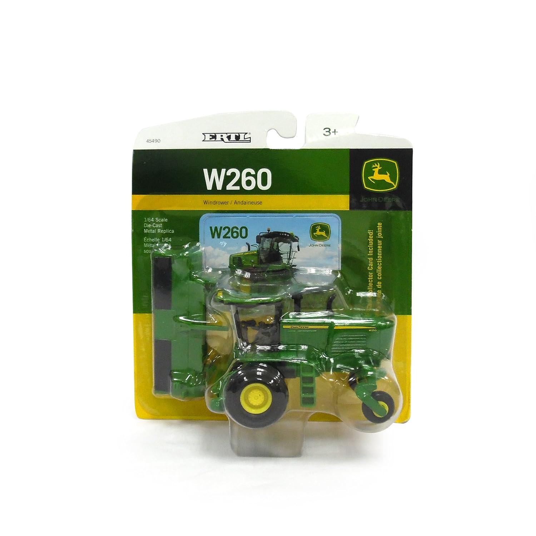 John Deere TBE45490 LP53306 W260 MOCO Windrower with 500R Head (1/64 Scale)