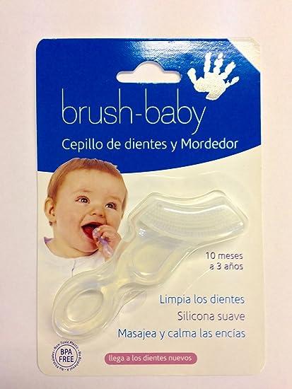 Brush-Baby Cepillo de dientes y Mordedor