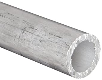 Aluminum 6061-T6 Seamless Round Tubing WW-T 700//6 0.083 Wall 0.334 ID 12 Length 1//2 OD